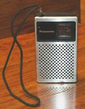 Vintage Transistor Panasonic Travel Pocket Size AM Only Radio (R-1014) **READ**