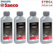 4 x Philips Saeco Decalcifier Descaler 250ml Espresso Coffee CA6700 CA6701 Evoca
