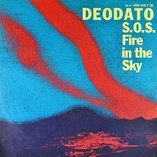 "7"" DEODATO S.O.S. Fire In The Sky / East Side Strut WB 1980 like NEW! Neuwertig!"