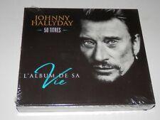 JOHNNY HALLYDAY  - L'ALBUM DE SA VIE COFFRET 3 CD NEUF SCELLE