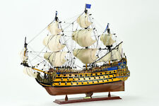 French Soleil Royal (Royal Sun) Handcrafted Wooden Tall Ship Model 31""