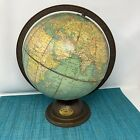 Antique+World+Globe+9+Inch+Art+Deco+George+F.+Cram+Company+Tilted+Vintage