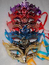 12pcs Masquerade Party Fantasy Masks weddings Ladies Halloween child's gift new