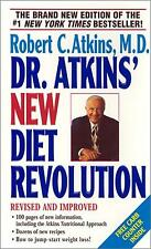 Dr. Atkins New Diet Revolution by Robert C Atkins MD 2001 Paperback WT6289