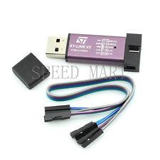 NEW Metal Shell Mini ST-Link V2 Emulator Downloader Programming STM8 STM32 Hi-Q