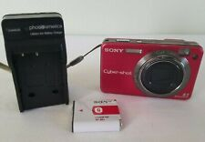 Sony Cyber-shot DSC-W150 8.1MP Digital Camera - Red *GOOD/TESTED*