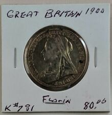 1900 Great Britain Florin