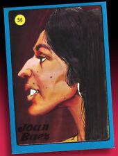 Americana pop desfile sammelbilder sin pegar 1972 > Joan Baez nº 56