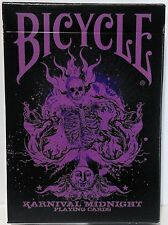 Limited Edition Karnival Midnight Purple Deck Playing Cards by Bicycle