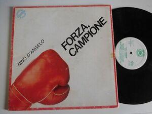 Nino D'Angelo – Forza, Campione  LP - NO POSTER