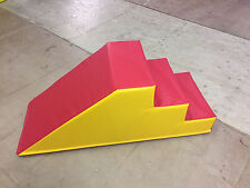 Soft Play Step & Slide120cm x 50cm x 50. RED and yellow FREE POST