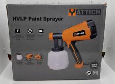 YATTICH Paint Sprayer, 700W High Power HVLP Spray Gun, 5 Copper Nozzle 3 Pattern