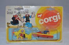 Corgi Toys 2508 Juniors Popeye & Olive Oyl, Unopened mint on card