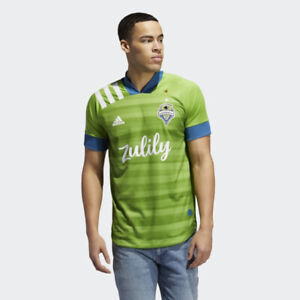 ADIDAS Seattle Sounders 20/21 Home Authentic MLS Jersey Size L *NEW* EH6214 $130