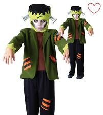 Kids Halloween Boys Girls Fancy Child Frankenstein Monster Dress Costume Outfit