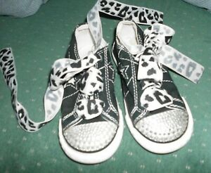 CONVERSE TODDLER GIRLS ONE STAR SNEAKERS SIZE 8 EUC