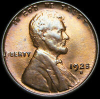 1925-D Lincoln Cent Wheat Penny ---- GEM BU Condition  ----   #K794