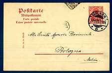 GERMANY - GERMANIA REICH - 1902 - CARTOLINA POSTALE. Destinaz.Bologna. R717