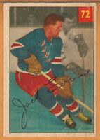 1954-55 , PARKHURST , JACK EVANS , CARD #72