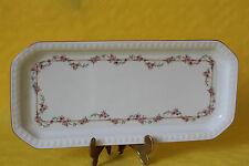 Seltmann Weiden Andrea Rosa Ranke Königskuchenplatte Kuchenplatte  33 x 15,5 cm