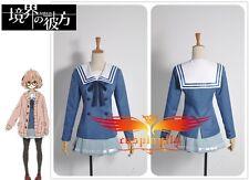 Beyond the Boundary Mirai Kuriyama Ayi Ai Shindo Dress Cosplay Costume Custom
