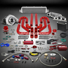 T04 .63AR 400+HP 16PC TURBO CHARGER+MANIFOLD+INTERCOOLER KIT FOR VOLVO B20/B230