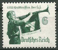 Deutsches Reich MiNr. 584 y (waag. Gummiriffelung) postfrisch
