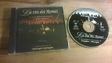 CD POP AMBROGIO SPARAGNA-La Via dei ROMEI (22 Song) BMG RCA Rec