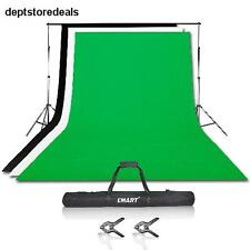 Photography Backdrops Photographic Support Backdrop Stand Kit Muslin Setup Steam