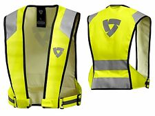 GILET MOTO GIACCA REV'IT CONNECTOR HV VEST ALTA VISIBILITA' FLUO HV TG XL
