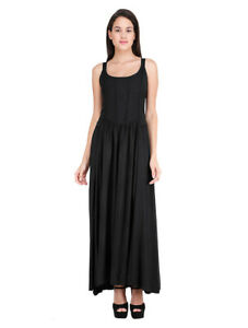 Jordash Dress Long Elasticated Black