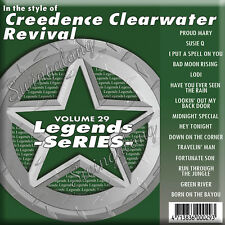Legends Karaoke CDG Vol 029 - Creedence Clearwater Revival BEST CCR KARAOKE