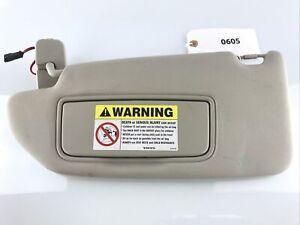 2001-2004 Volvo S60 V70 XC70 Sunvisor Visor Shade Grey LH/Driver OEM Used