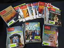 The Economist: Huge Set of 61 (2014/2012) -  Includes Shipping!!