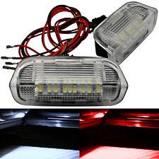 2x LED Iluminación Puerta-VW Golf 5 6 7 Passat Cc B6 B7 - Blanco Rojo Subida