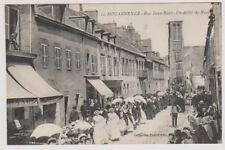 France postcard - Douarnenez - Rue Jean-Bart - Un defile de Noces
