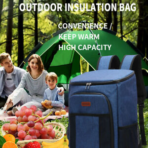 Outdoor Waterproof Large Capacity Picnic Backpack Portable Insulated Bag