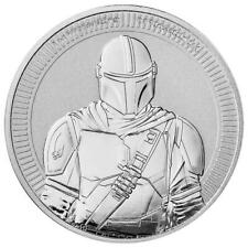 Niue Star Wars The Mandalorian Kopfgeldjäger 1 oz 999 Silbermünze Auflage 25.000