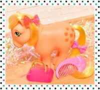 ❤️My Little Pony MLP G1 Vtg Applejack European Euro UK Collectors Pose & Comb❤️