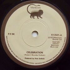 P.F.M. - Celebration / Old Rain - 1973 MANTICORE (EX)