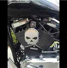 Harley Davidson Chrome Skull Horn Cover Motorcycle Cowbell New Free Shipping USA