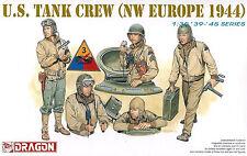 DRAGON 6054 1/35 U.S. Tank Crew, NW Europe 1944 (5 Figures)