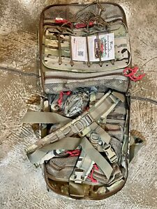 New TSSI TACOPS M9 MEDICAL BACKPACK Multicam MOLLE PACK AIDBAG