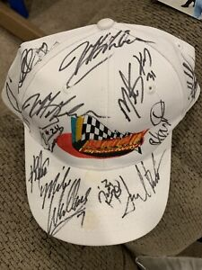 2001 Dale Earnhardt + others autographed hat w/proof