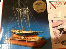 Model Shipways 1:96 scale pilot boat wood Kit  #2027, C10 great for HO