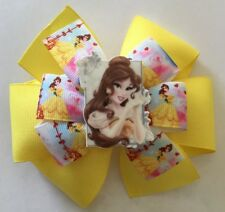 Belle and Princess Inspired Girl's Hair Bow Belle from Beauty and The Beast Bow