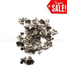 30pcs Small Craft Jingle Bell Christmas/Bow/embellishment/ornament Silver