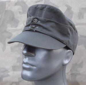 Feldmütze M43 Mannschaft Baschlikmütze Baumwolle feldgrau Größe 60