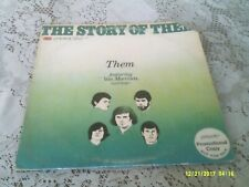 THEM. THE STORY OF THEM FEATURING VAN MORRISON. LONDON. LC 50001. 1977. PROMO.