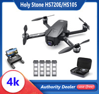 Holy Stone HS720E HS105 RC Drone with 4K EIS Camera GPS 5G Brushless Quad + Case